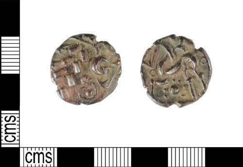 LIN-EB6C54: Late Iron Age gold stater: ABC1737