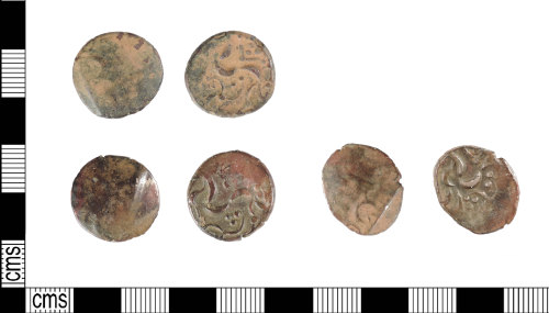 A resized image of Late Iron Age gold stater: ABC1761 Kite Staters