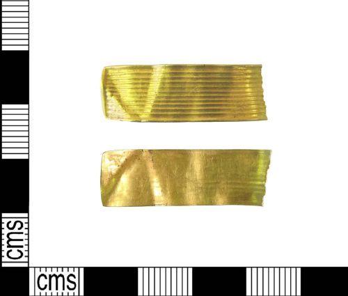 LIN-946F12: Bronze Age gold strip