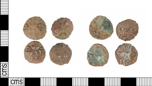 A resized image of Late Iron Age silver units: ABC1875