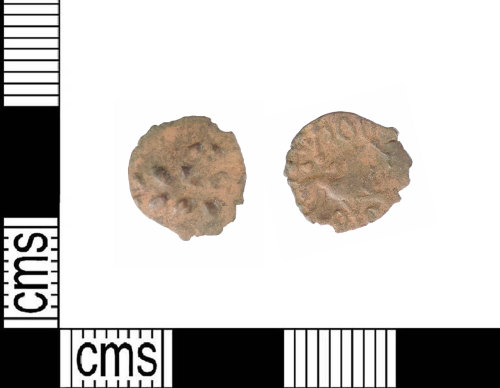 A resized image of Late Iron Age silver half unit: ABC1908