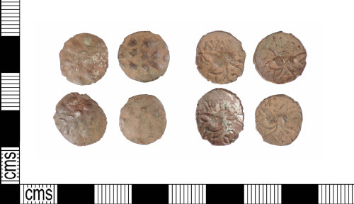 A resized image of Late Iron Age silver units: ABC1935