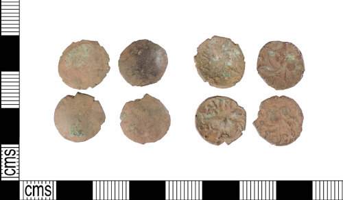 A resized image of Late Iron Age silver units: ABC1938
