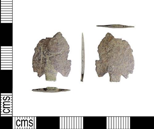 LIN-D95544: Bronze Age copper-alloy arrowhead