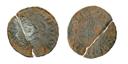 LIN-1302F0: Silver penny of Edward the Confessor