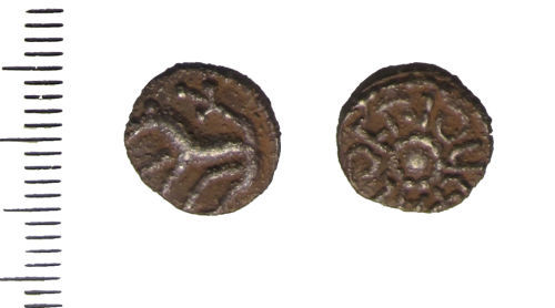 LIN-13B791: Anglo-Saxon sceatta of Aldfrith