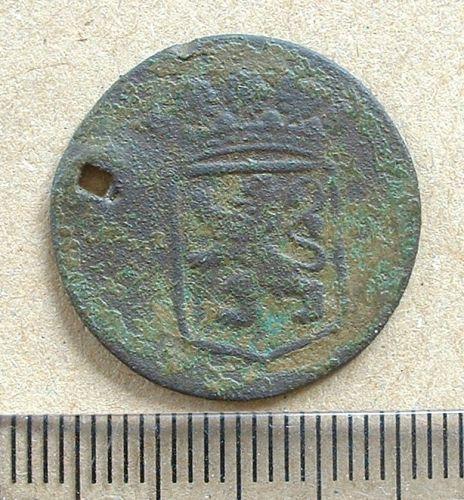 LIN-1CFC46: VOC duit coin