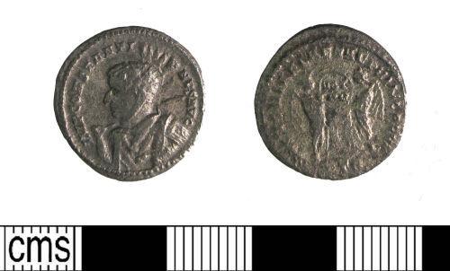 LIN-8FB6C8: Roman silver nummus