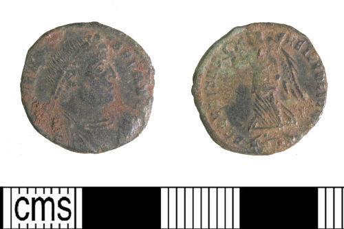 LIN-765091: Late Roman copper alloy nummus