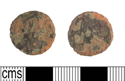 LIN-FFAA02: Late Roman copper alloy nummus or radiate