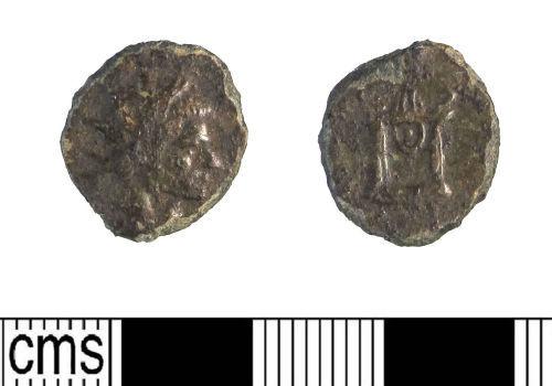 LIN-000447: Roman copper alloy radiate