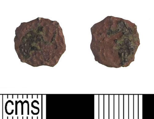 LIN-03D768: Late Roman copper alloy nummus
