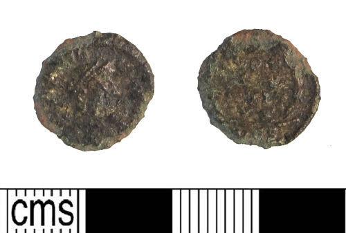 LIN-044145: Late Roman copper alloy nummus