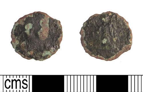 LIN-0506F7: Late Roman copper alloy nummus