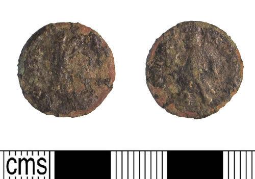LIN-0545C8: Late Roman copper alloy nummus