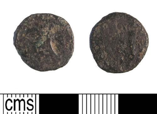 LIN-058404: Late Roman copper alloy nummus