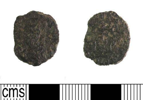 LIN-CE1701: Late Roman copper alloy nummus