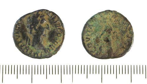 A resized image of Roman silver denarius