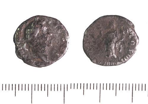 LIN-62B005: Roman silver denarius