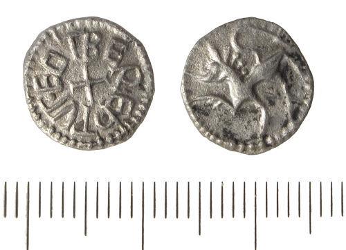 LIN-6FA6C5: Anglo-Saxon silver sceatta