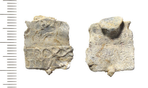 LIN-52BC58: Post-medieval lead cloth seal