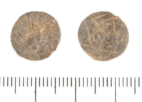 LIN-C98F67: Possible lead Anlgo-Saxon sceat