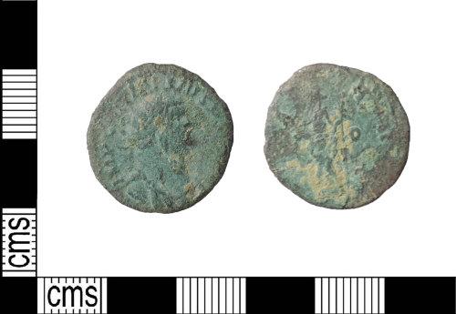 LIN-296B79: Late Roman copper alloy radiate
