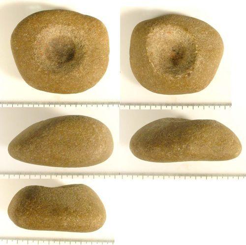 LIN-DE2AC7: Stone mace head
