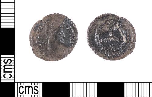 LIN-33AA1A: Roman silver siliqua
