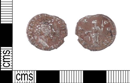 LIN-33DBBB: Roman silver denarius