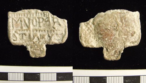 LIN-4DAAD5: Post-medieval lead horn book fragment