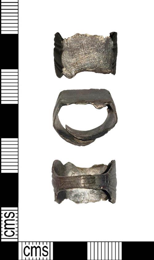 LIN-4B59C6: Roman silver finger ring