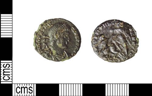 LIN-4F6B2C: Roman copper alloy nummus