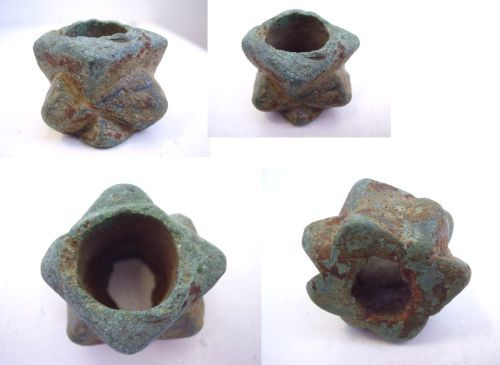 LIN-6DD211: Medieval copper alloy macehead
