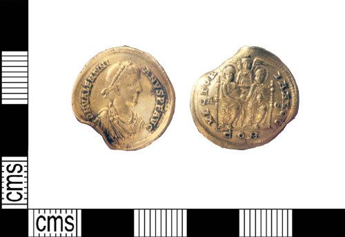LIN-518569: Roman gold solidus