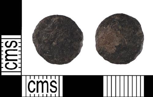 LIN-56B254: Late Roman copper alloy nummus