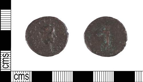 LIN-58C3DA: Roman copper alloy radiate