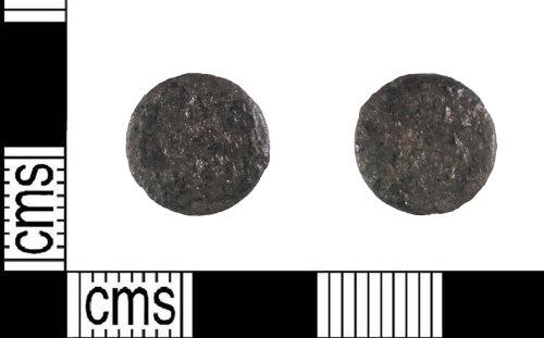 LIN-5900A6: Late Roman copper alloy nummus