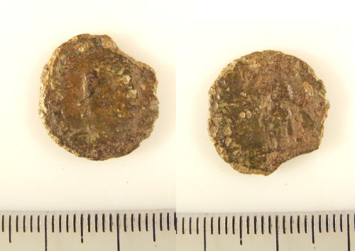 LIN-6BF7A2: Roman copper alloy coin