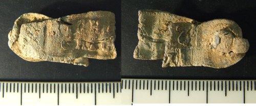 LIN-57C813: Post-medieval lead cloth seal