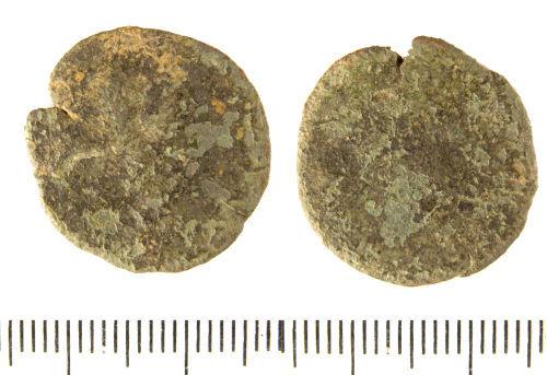 LIN-9D4691: Roman copper alloy radiate