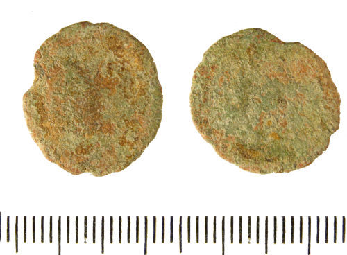 LIN-9D2DC6: Late Roman copper alloy nummus