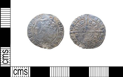 LIN-6BBFF1: Medieval silver groat of David II