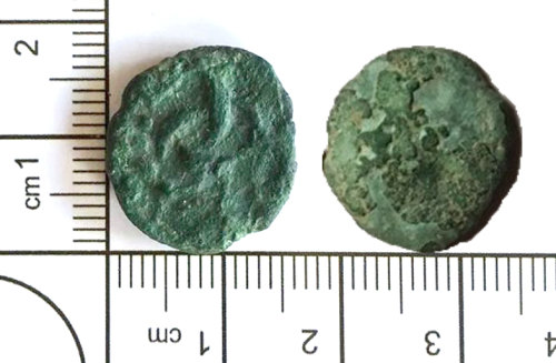 LIN-6DF089: Late Iron Age core from a plated stater
