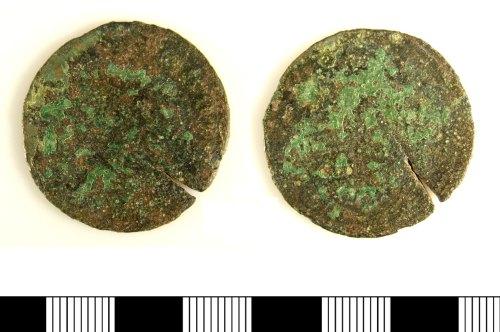 LIN-896657: Late medieval copper alloy jetton