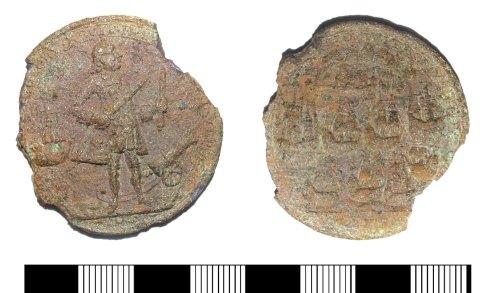 LIN-7FA306: Modern copper alloy medal