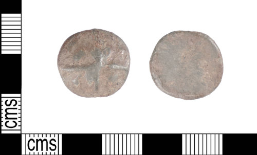 LIN-7D688A: Post-medieval lead token