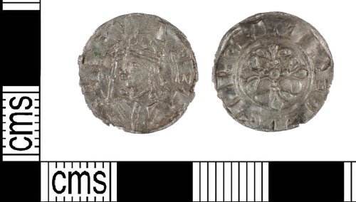 LIN-7EA3D4: Early Medieval silver penny