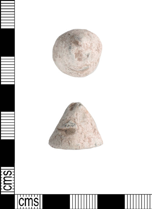 LIN-7F6ABD: Early Medieval lead weight