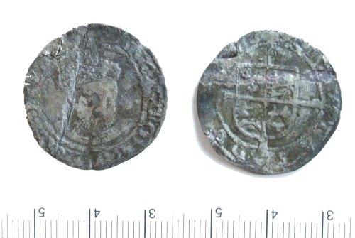 LIN-DD54F1: Post-medieval silver shilling